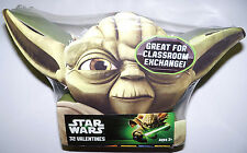 Star Wars 32 Valentine's Day Cards Valentines/Classroom Exchange Card Deluxe Box