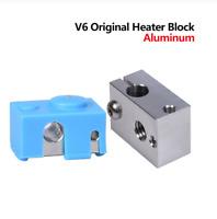 BIQU V6 Heater Block Aluminum Silicone Socks For 3D E3D V6 J-head Hotend PT100