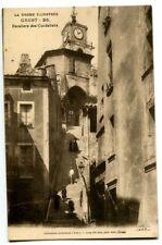 CPA 26 Drôme Crest Escaliers des Cordeliers animé