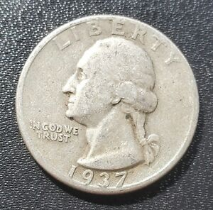 USA 1937-D Washington Quarter - Silver