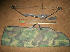"""Used Bear Magnum Hunter Rh Compound Bow 30"""" Draw Case Arrows Sports"""
