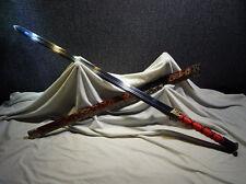 42inch Chinese sword han jian carbon steel KATANA sharp blade can cut down tree