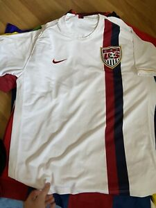 USA 2006 2007 HOME FOOTBALL SHIRT SOCCER JERSEY NIKE WHITE