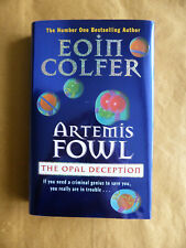 Eoin Colfer Artemis Fowl The Opal Deception 1st Edition SIGNED 2005