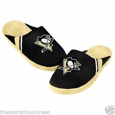 Pittsburgh Penguins Team Jersey Indoor/Outdoor Slippers ~ Size XL (13-14) ~ NWT