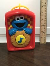 1999 Tyco Sesame Street Cookie Monster Musical Toy