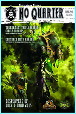NO QUARTER MAGAZINE ISSUE 61 Privateer Press NEW Warmachine Hordes July 2015