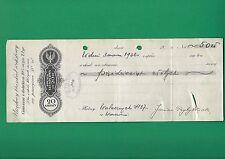 POLAND WEKSEL - URZĘDOWY BLANKIET WEKSLOWY ZA 20 Gr. - 1936 - Promissory note