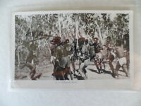 ANTIQUE VINTAGE OLD PHOTO POSTCARD ABORIGINAL CORROBOREE DANCE MURRAY VIEWS