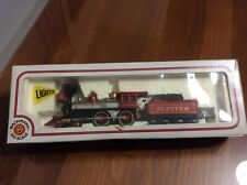 """BACHMAN HO SCALE LIGHTED 4-4-0 CENTRAL PACIFIC LOCO """"JUPITER"""" #41-510-24"""