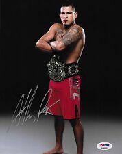 Anthony Pettis Signed UFC 8x10 Photo PSA/DNA COA 164 181 185 Belt Picture Auto 6