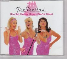 (GT171) The Sheilas, (I'm So) Happy Happy (You're Mine) - 2007 DJ CD