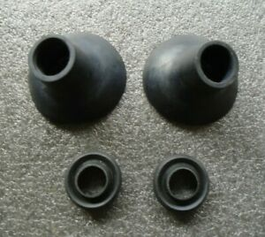 MORRIS MINOR REAR BUMPER MOUNTING STUD RUBBER  FERRULES / INNER AND OUTER  - NEW