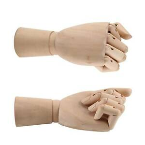 Wooden Mannequin Hands LEFT RIGHT or PAIR  Artist Sketching Manikin AidArtwork