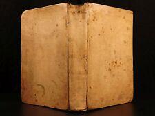 1694 Francis Bacon Nuovo Atlantis Novum Organum Augmentis Scientiarum Scienza