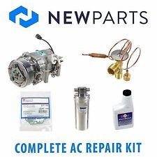 Complete AC A/C Repair Kit w/ NEW Compressor & Clutch for Honda Prelude 97-01