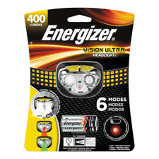Energizer  400 lumens Black/Yellow  LED  Headlight  AAA Battery