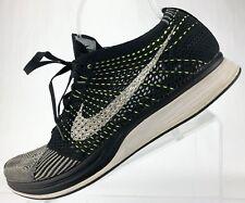 Nike Flyknit Racer - Road Running Training Athletic Sneakers Men's 11 Black/Grey