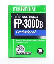 Fuji FP-3000B B/W 10 Shot Pack Film Expired 01/2015