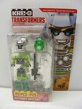 "KRE-O hasbro Transformers kreo Collection 1  ""Custom Kreon"" Autobot RATCHET"