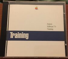 Vintage Rare Apple Computer System 7.0 Software Training CD -Very Good Condition