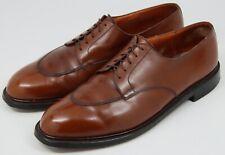 JM WESTON 598 The Half-Hunt Derby Brown Boxcalf Men's Shoes - US 13 / UK 12 E