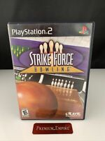 Strike Force Bowling - Playstation 2 PS2 Game - Tested
