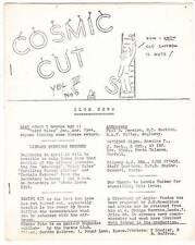 Cosmic Cut Vol. 3 #6 - 1945 British science fiction fanzine - Cosmos Club News