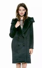 ALEXANDER WANG⚡️{$1,850} Alpaca fur lambskin leather hooded car coat, size 4