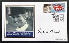 Olympic Gold Medal Winners Benham 2004 Postal Cover Signed Richard Meade Munich