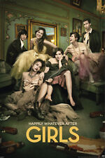 GIRLS SEASON 3 24x36 POSTER HBO LENA DUNHAM COMEDY DRAMA TV SHOW SERIES NEW YORK