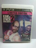 KANE AND LYNCH 2 DOG DAYS  PLAYSTATION 3 PS 3 LIMITED EDITION