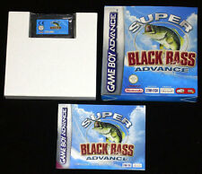 SUPER BLACK BASS ADVANCE Gameboy Advance Versione Italiana »»»»» COMPLETO