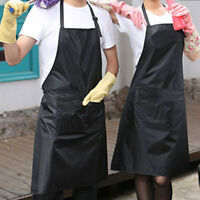 Practical Adult Waterproof PVC Artist Craft Art Painting Cooking Apron Smock