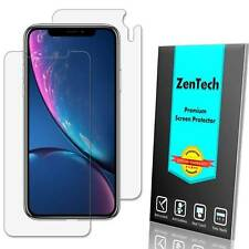 2-PACK ZenTech Clear FULL BODY Screen Protector Guard Shield Film For iPhone XR