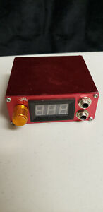 Solong tattoo Aluminum Digital LCD Display Red Color P106-2 Tattoo Power Supply