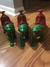 MOTU Battle Cat Saddle Masters of the Universe vintage He-Man Lot of 3