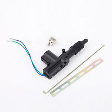 Car Central Locking System 2 Wire Automatic Power Door Lock Actuator Motor Black