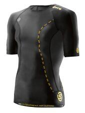 Skins Dnamic Mens Short Sleeve Top Size Medium B16sk002011 Black