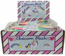 10 X STICKS UNICORN ROCK PARTIES FAYRES