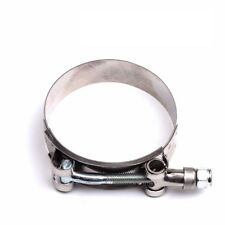 """3"""" T-BOLT CLAMP SILICONE STAINLESS STEEL HOSE TURBO INTAKE INTERCOOLER 1PCS"""