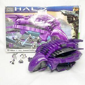 Mega Bloks Halo Covenant Phantom 96941 - Includes Box & Instruction Manual