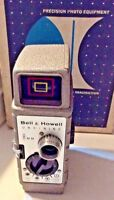 Bell & Howell One Nine Model 220P Sundial Vintage 8mm Movie Camera With Box