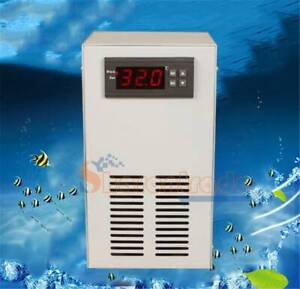 Electronic Water Chiller Aquarium Fish Tank water Cooling and Heating + Pump NEW