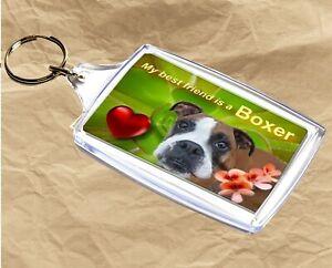 Boxer Dog Keyring  Dog Key Ring Boxer Dog Gift Xmas Gift Mothers Day Gift