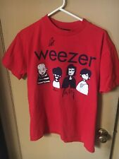 Weezer Tshirt from the Green Album release - Autographed - Medium size