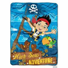 Captain Jake And The Neverland Pirates High Seas Adventure Plush Blanket NEW