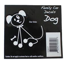 Family Car Dog Window Stickers Decals Vinyl Figure Decoration
