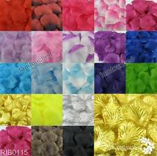 200 / 500PCS Flowers Silk Rose Petals Wedding Party Table Confetti Decoration