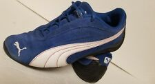 rare blue suede Puma Speed Cats size 5
